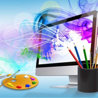 Digital design is like painting, except the paint never dries.